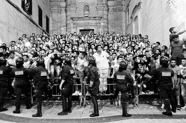 MA Bruna Police wall